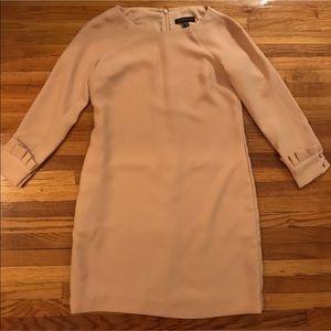 P00 /00P Nude long sleeve mini dress